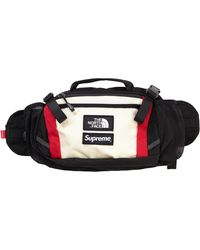 Supreme The North Face Expedition Waist Bag - White