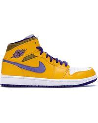 Nike Air 1 Mid Lakers - Yellow