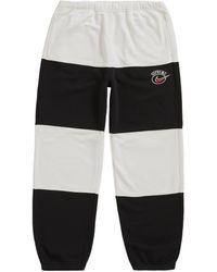Supreme Nike Stripe Sweatpant - Black