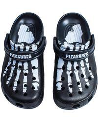 Crocs™ Classic Clog Pleasures - Black