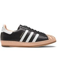 Adidas Originals Pink + Hender Scheme Superstar Leather Sneakers for men