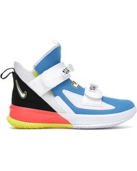 Nike Lebron Soldier 13 Sfg Basketball Shoe - Blue