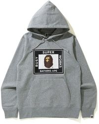 A Bathing Ape - Super Busy Works Pullover Hoodie - Lyst