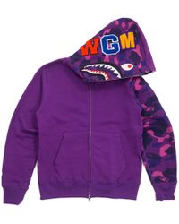 33eec3c2 Supreme Champion Hooded Sweatshirt (ss18) Light Purple in Purple for Men -  Lyst