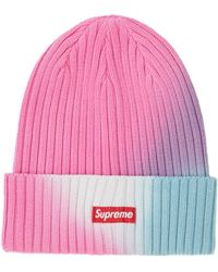 Supreme Overdyed Beanie (ss19) - Pink