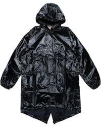 Supreme Comme Des Garcons Shirt Fishtail Parka Black