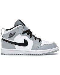Nike 1 Mid Light Smoke Grey (ps)
