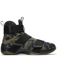 Nike Lebron Zoom Soldier 10 Sfg Camo - Green