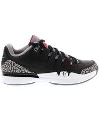 Nike - Zoom Vapor Aj3 'black/cement Jordan 3' Shoes - Size 9.5 - Lyst