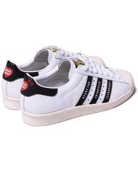 adidas - Superstar Human Made White Black - Lyst