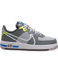 Nike Air Force 1 React Shoe - Grey