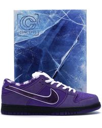 Nike Sb Dunk Low Pro Og Qs 'concepts/purple Lobster' Shoes - Size 8