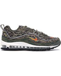 Respetuoso del medio ambiente matiz salario  Nike Air Max 98 Aop Tiger Camo Sneaker in Olive (Green) for Men - Lyst