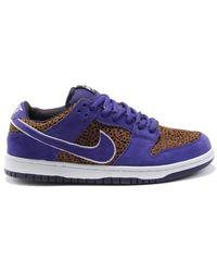 Nike - Dunk Sb Low Purple Safari - Lyst