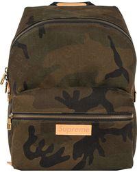 Supreme Louis Vuitton X Apollo Backpack Monogram Camo - Green