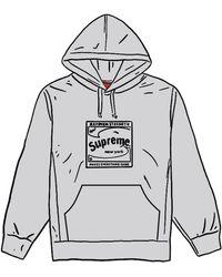 Supreme - Shine Hooded Sweatshirt - Lyst