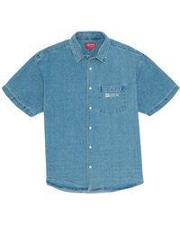 Supreme Invert Denim S/s Shirt - ブルー