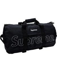Supreme Duffle Bag (fw18) - Black