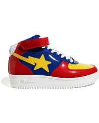 A Bathing Ape A Bathing Ape Sta Mid Red Yellow Blue (2020)