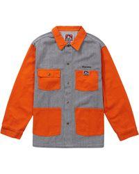 Supreme Ben Davis Chore Coat - Orange