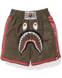 A Bathing Ape X Readymade Shark Boxing Shorts - マルチカラー