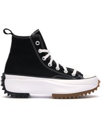 Converse Run Star Hike Hi Shoes - Size 3 - Black