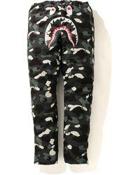 A Bathing Ape - City Camo Shark Track Pants - Lyst