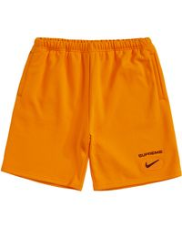 Supreme Nike Jewel Sweatshort - オレンジ