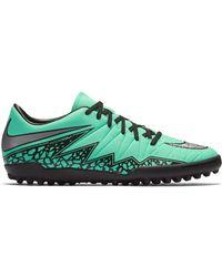 Nike - Hypervenom Phelon Ii Tf Green Glow - Lyst