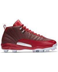 Nike - 12 Retro Mcs Cleat Gym Red - Lyst