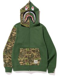 15d6c09b7 A Bathing Ape Kabuki Pullover Hoodie Grey in Gray for Men - Lyst