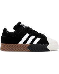 adidas Aw Skate Super Alexander Wang Black White