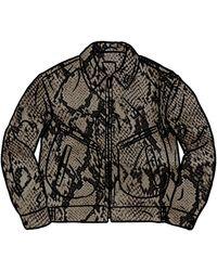 Supreme Schott Leather Work Jacket (ss21) - ブラック