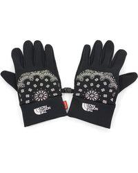 Supreme The North Face Bandana Gloves - Black