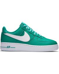 Nike Air Force 1 Low Nba City Edition White Navy for Men Lyst