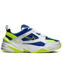 Nike Mens M2k Tekno Multicolour Sneakers - Blue