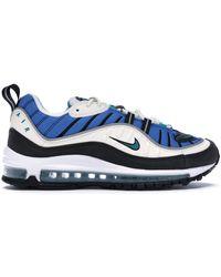 Nike Air Max 98 Radiant Emerald (w) - Blue