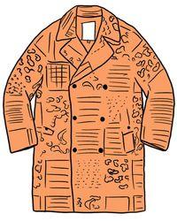 Supreme Military Trench Coat - Multicolour