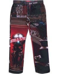 Supreme Scarface The World Is Yours 5-pocket Jeans - Multicolour