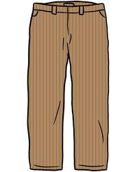 Supreme Work Pant (ss21) - ブラウン