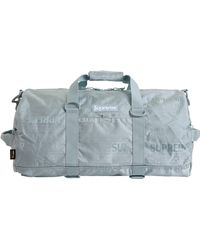 Supreme Duffle Bag (ss19) - Blue