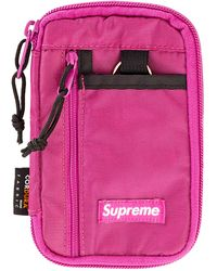 Supreme Small Zip Pouch - Pink