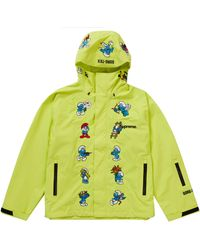 Supreme - Smurfs Gore-tex Shell Jacket - Lyst