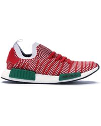 new style 80c1a 8ff8d adidas Rubber Nmd R1 Primeknit in Green Marble (Green) for ...