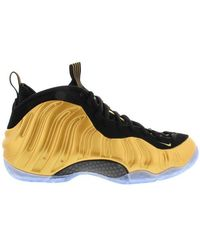 Nike - Air Foamposite One 'metallic Gold' Shoes - Size 9.5 - Lyst