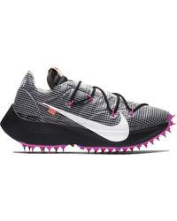 Nike X Off-white Vapor Street Womens Shoe - Black