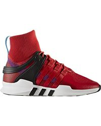 adidas Eqt Support Trainers - Red
