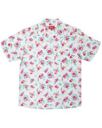Supreme - Floral Rayon S/s Shirt - Lyst