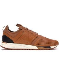 New Balance - 247 Brown Luxe - Lyst
