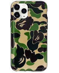 A Bathing Ape Abc Camo Iphone 11 Pro Case - Green